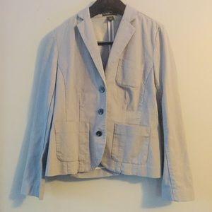 Eddie Bauer pinstripe Blazer Jacket. Size 14